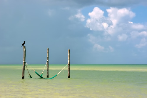 Relaxation is the main activity on Holbox