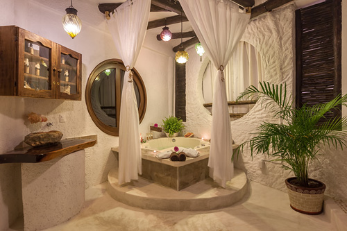 The private indoor SPA