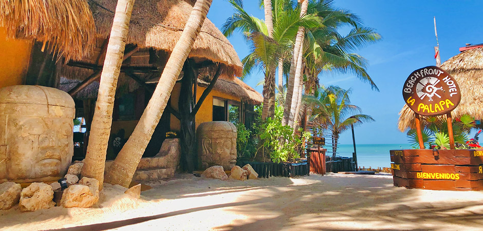 Welcome To The Beachfront Hotel La Palapa